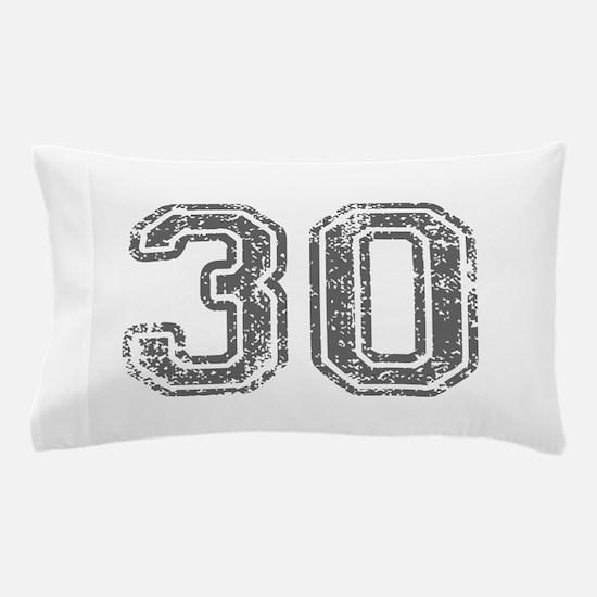 30-Col gray Pillow Case