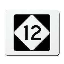 Highway 12, North Carolina Mousepad