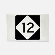Highway 12, North Carolina Rectangle Magnet
