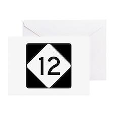 Highway 12, North Caroli Greeting Cards (Pk of 10)
