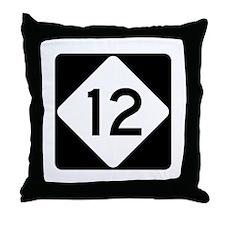 Highway 12, North Carolina Throw Pillow