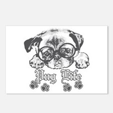 Pug Life Postcards (Package of 8)