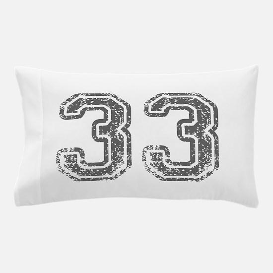 33-Col gray Pillow Case