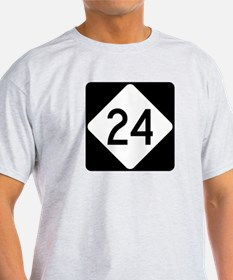Highway 24, North Carolina T-Shirt