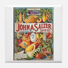 Salzer Seed Company Tile Coaster