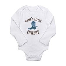 Cute Western style Long Sleeve Infant Bodysuit