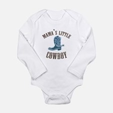 Cute Saddles Long Sleeve Infant Bodysuit