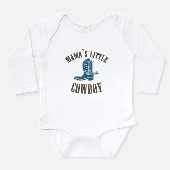 Unique Little cowboy Long Sleeve Infant Bodysuit