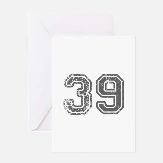 39-Col gray Greeting Cards