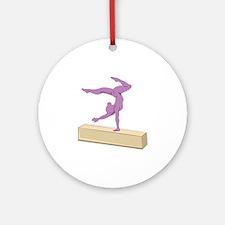 Balance Beam Ornament (Round)