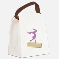 Balance Beam Canvas Lunch Bag