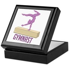 Gymnast Keepsake Box