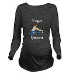 Yoga Queen Long Sleeve Maternity T-Shirt