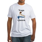 Yoga Queen Fitted T-Shirt