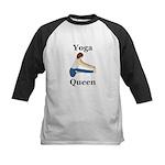 Yoga Queen Kids Baseball Jersey