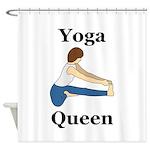 Yoga Queen Shower Curtain