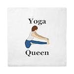 Yoga Queen Queen Duvet