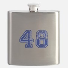 48-Col blue Flask