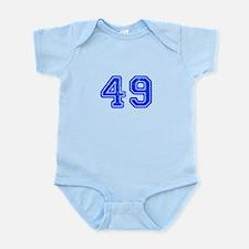 49-Col blue Body Suit