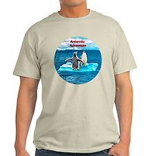 Antarctic Icebergs and penguins - T-Shirt