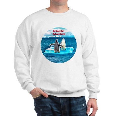 Antarctic Icebergs and penguins - Sweatshirt