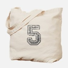 5-Col gray Tote Bag
