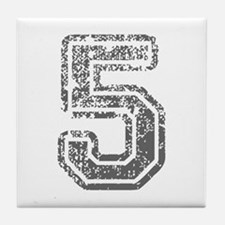 5-Col gray Tile Coaster