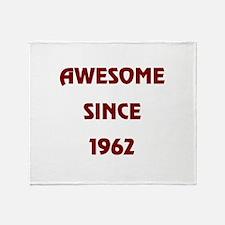 1962 Throw Blanket