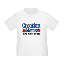 Croatian Moms Are The Best T-Shirt