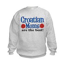Croatian Moms Are The Best Sweatshirt