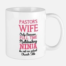 Pastor's Wife for light Mugs
