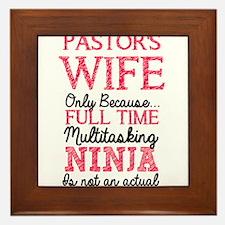 Pastor's Wife for light Framed Tile