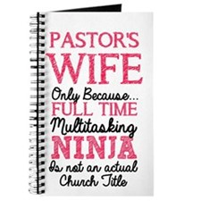 Pastor's Wife for light Journal