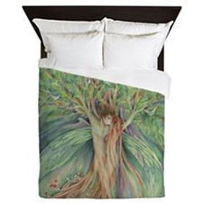 Tree Spirits tree lovers Queen Duvet