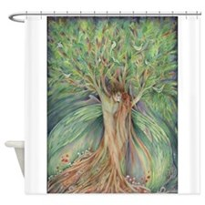 Tree Spirits tree lovers Shower Curtain