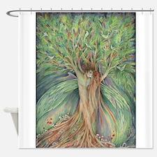 Tree Spirits tree lovers Shower Curtain