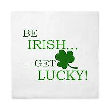 Be Irish Get Lucky Queen Duvet