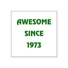 """1973 Square Sticker 3"""" x 3"""""""
