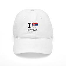I love Serbia Baseball Cap