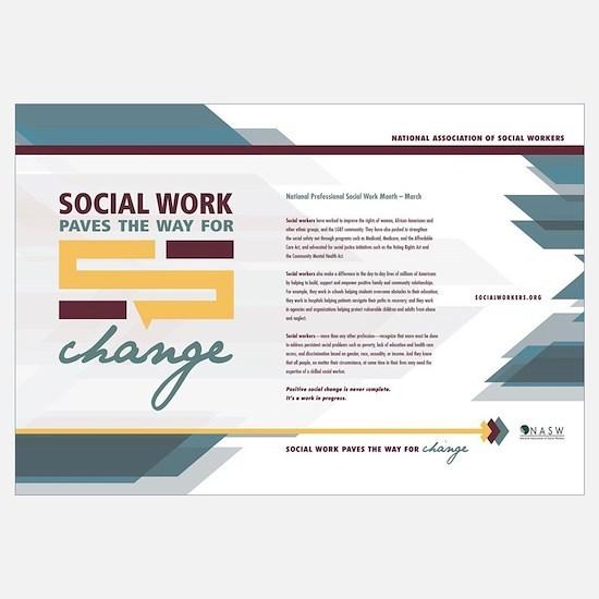Cool Social work month Wall Art