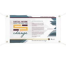 Unique Social work month Banner