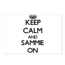 Keep Calm and Sammie ON Postcards (Package of 8)