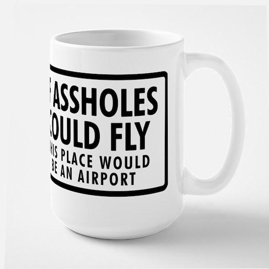 Airport Large Mug