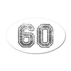 60-Col gray Wall Decal