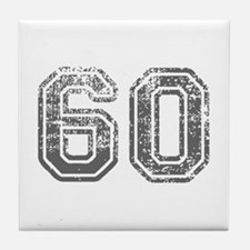 60-Col gray Tile Coaster