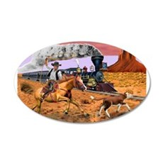COWBOY TO THE RESCUE Wall Decal
