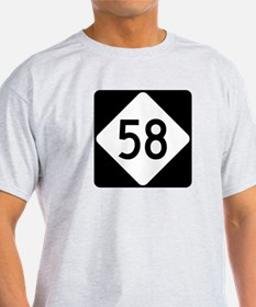 Highway 58, North Carolina T-Shirt