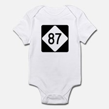 Highway 87, North Carolina Infant Bodysuit