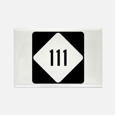 Highway 111, North Caro Rectangle Magnet (10 pack)