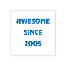 """2005 Square Sticker 3"""" x 3"""""""
